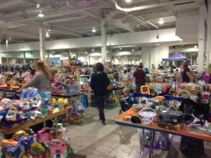 The JBF Philly sale at the Greater Reading Expo Center