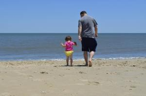 Vacation on the beach with a kid